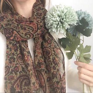 Chico's paisley print scarf